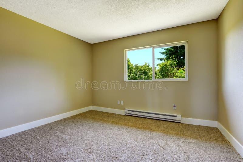 Простая пустая комната стоковая фотография rf