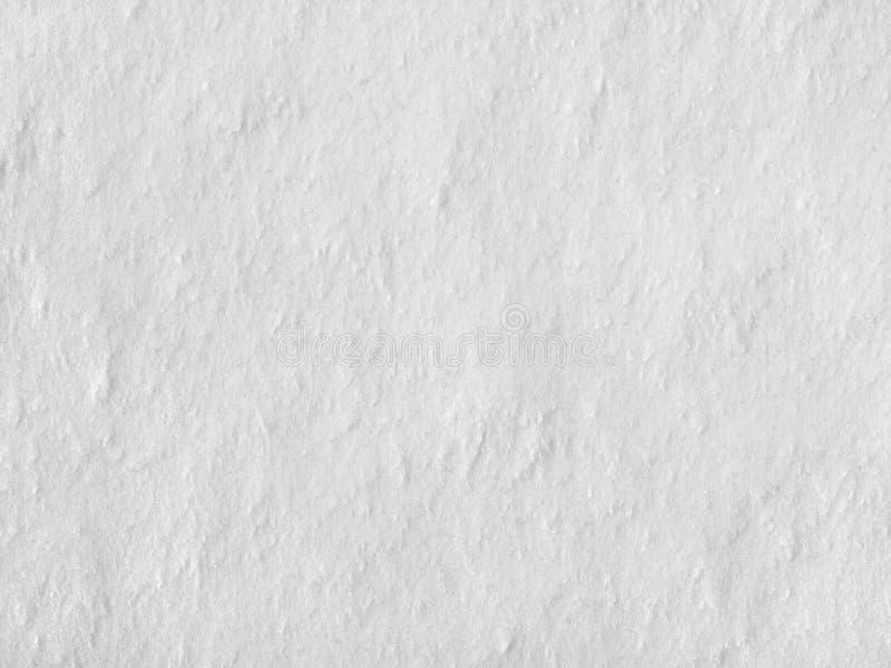 Простая плотная предпосылка поверхности снега, текстура стоковые изображения rf