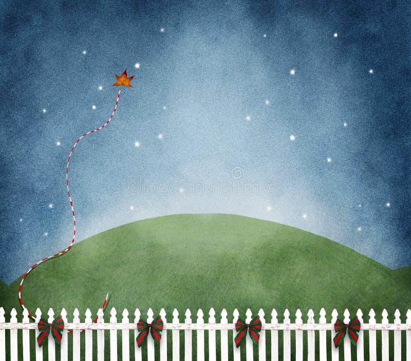Простая Рожденственская ночь стоковая фотография