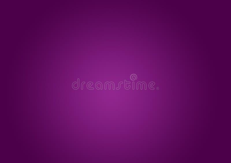 Простая фиолетовая предпосылка с градиентом стоковая фотография rf
