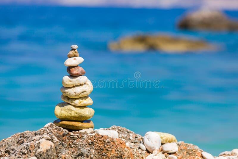 Простое искусство на пляже стоковые фотографии rf