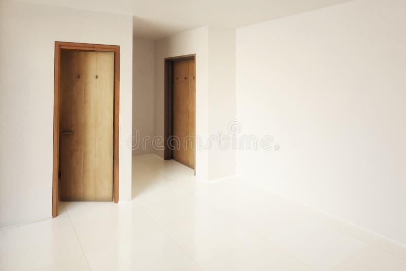 Простое приспособление комнаты бесплатная иллюстрация