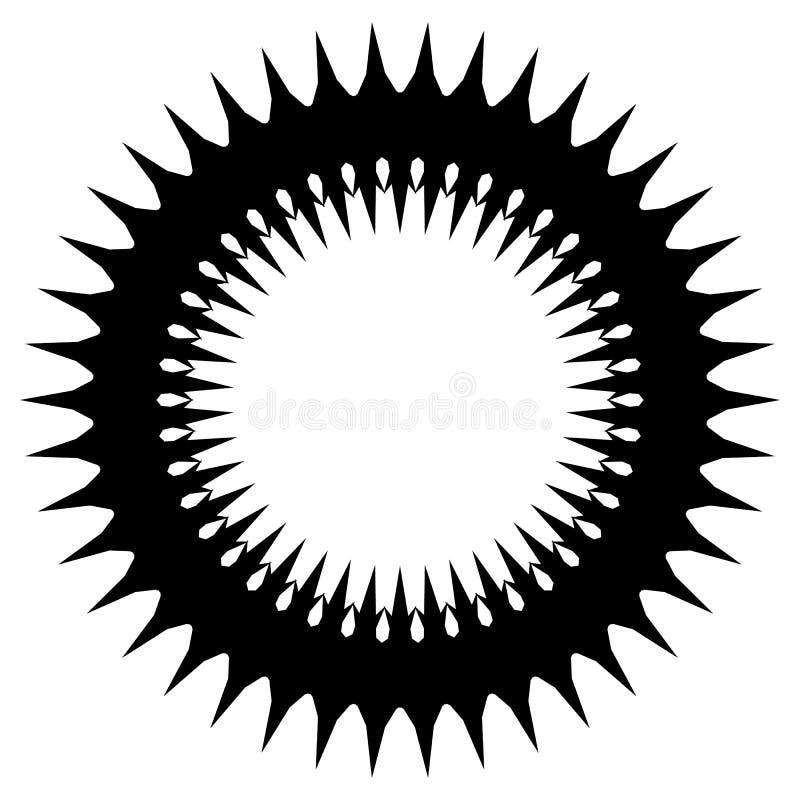 Download Простой геометрический элемент круга изолированный на белизне Иллюстрация вектора - иллюстрации насчитывающей форма, современно: 81805259