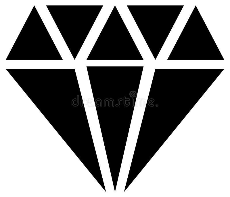 Download Простой диамант, знак ювелирных изделий, символ Драгоценный камень, рубиновый значок, Иллюстрация вектора - иллюстрации насчитывающей элемент, фасетки: 81805645