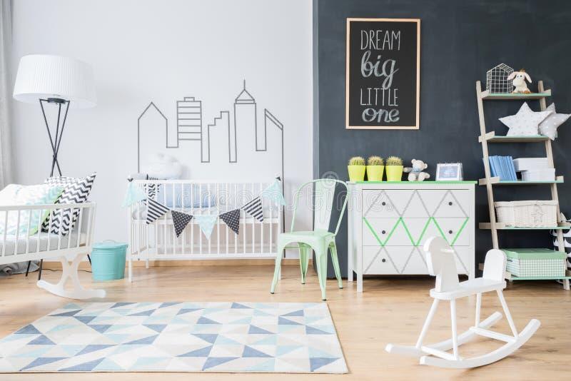 Просторное место для младенца стоковое фото