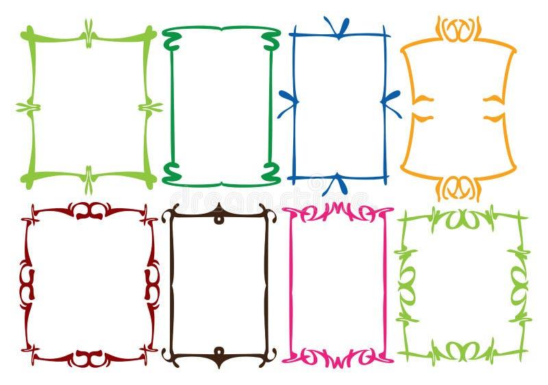 Просто конструкции граници бесплатная иллюстрация
