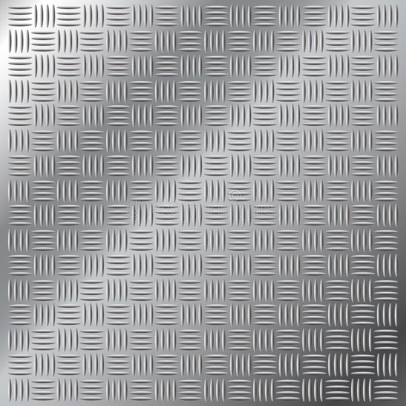 проступь нержавеющей стали перекрестной картины люка малая иллюстрация вектора