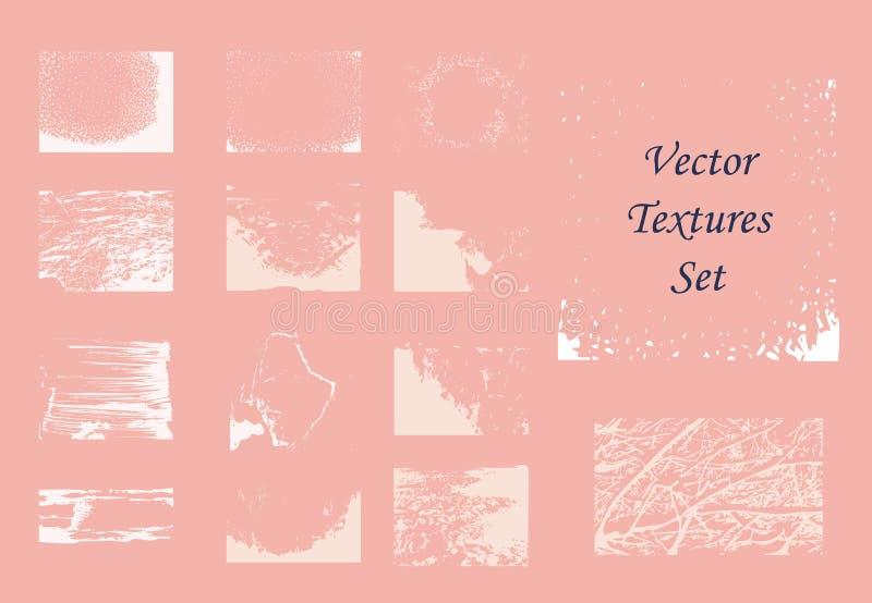 Простые элементы текстуры вектора для дизайна и иллюстрации стоковые фото