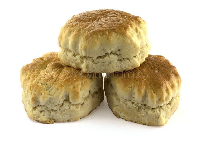 простые scones 3 стоковое изображение
