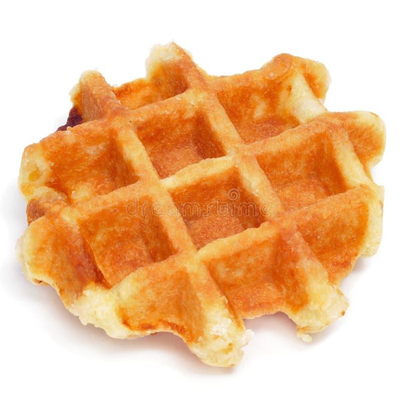 Простый waffle стоковая фотография