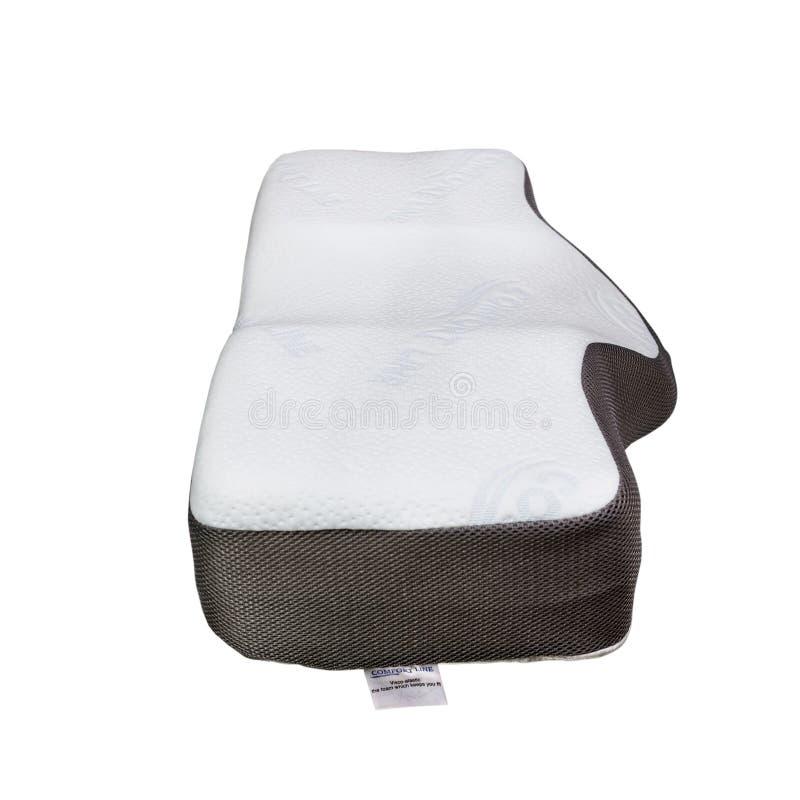 Протезные подушки, для удобного сна и здоровой позиции стоковое фото