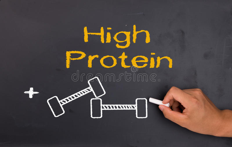 Протеин и культуризм стоковая фотография
