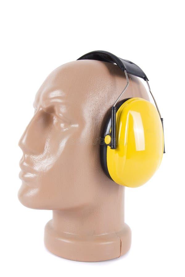 Протекторы безопасности Protectorswork уха helmetEar стоковые изображения rf