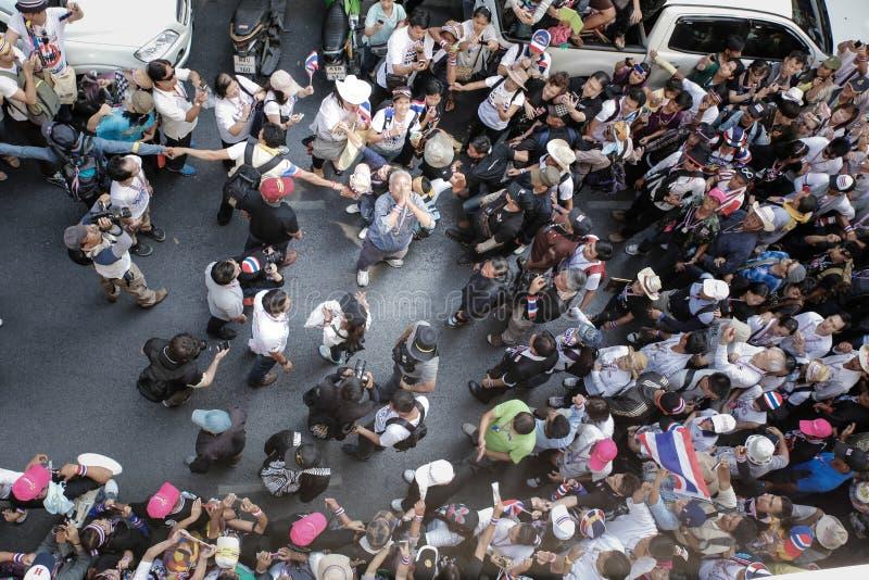 Протестующие стоковое изображение rf