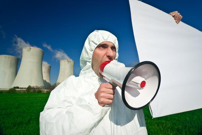 протестующий загрязнения стоковые фото