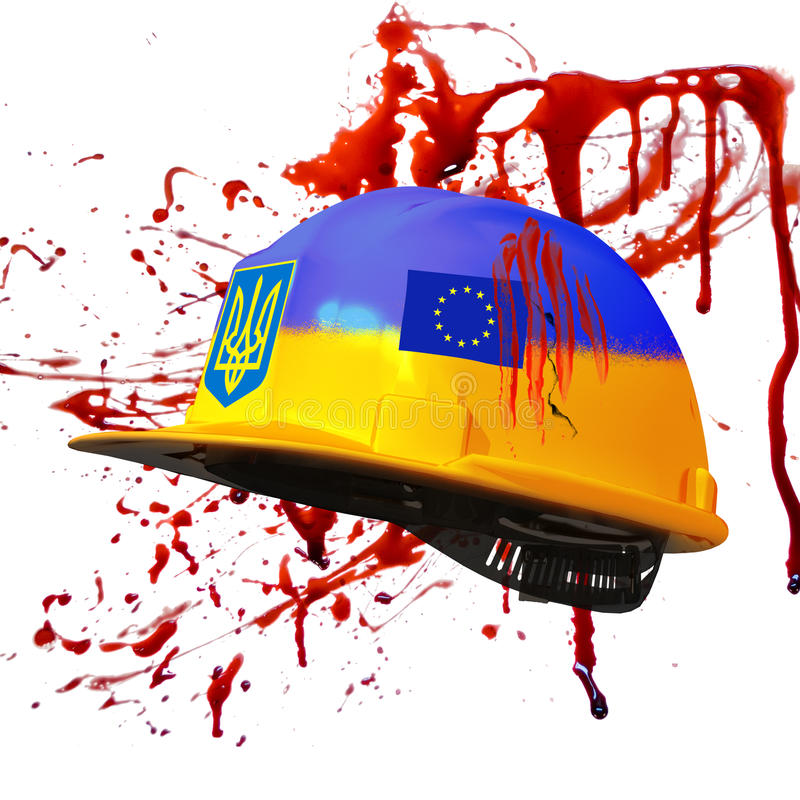 Протесты в Киеве. Украина стоковое изображение
