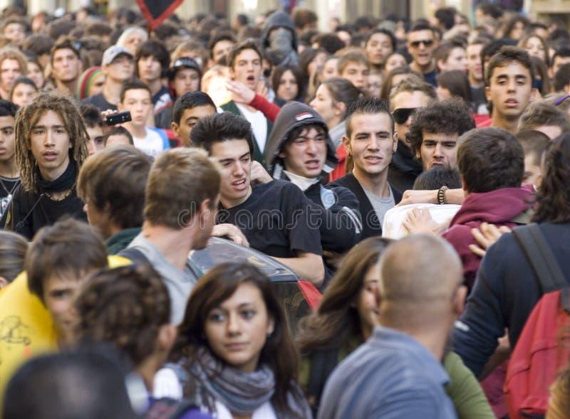 протест стоковое фото