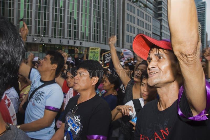 протест стоковые фотографии rf
