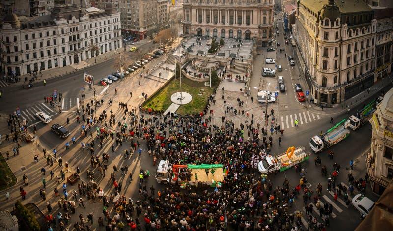 протест стоковая фотография rf