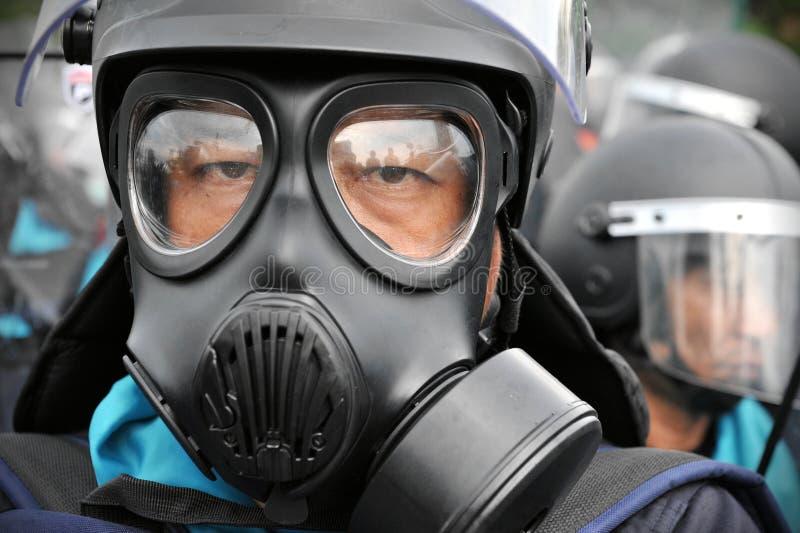 Противоправительственное ралли в Бангкок стоковая фотография rf