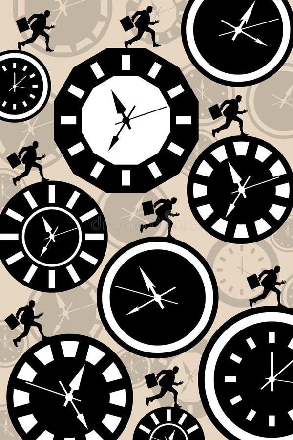 против времени гонки бесплатная иллюстрация