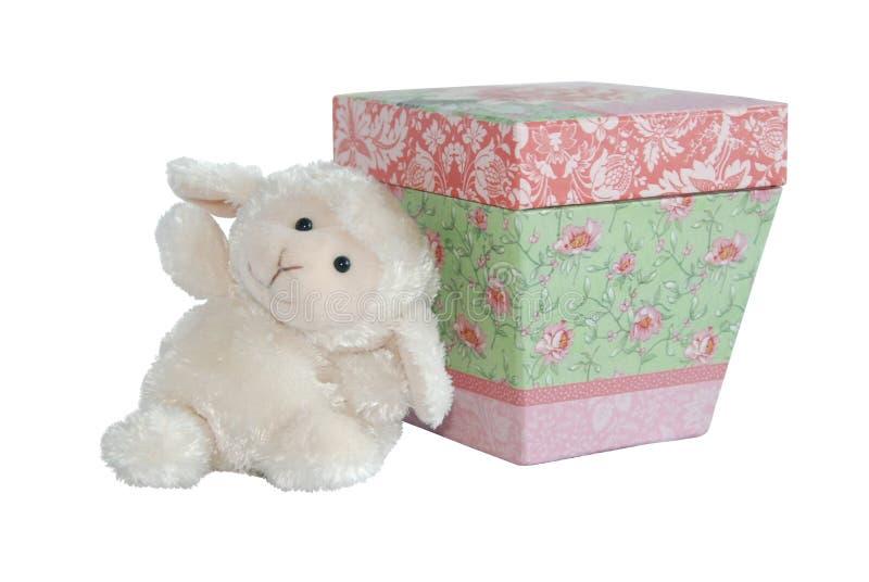 против коробки овечка формулирует предложное стоковое фото rf