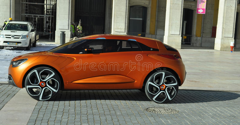 прототип renault принципиальной схемы автомобиля будущий стоковые фотографии rf