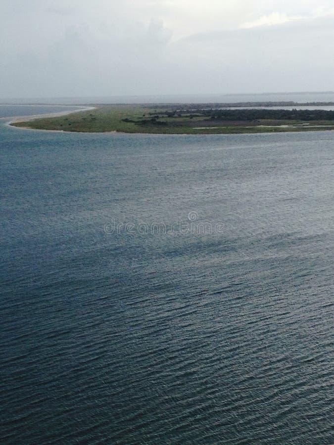 Протягивать океан стоковая фотография