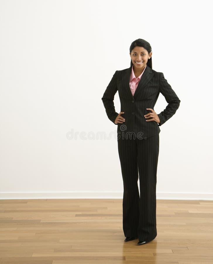 профессиональная женщина стоковая фотография