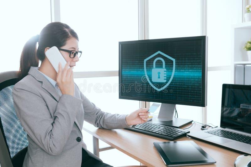 Профессиональное предприятие службы быта информационной безопасности стоковые фотографии rf