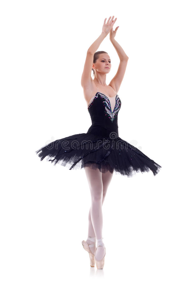 профессионал танцора балета стоковое изображение rf