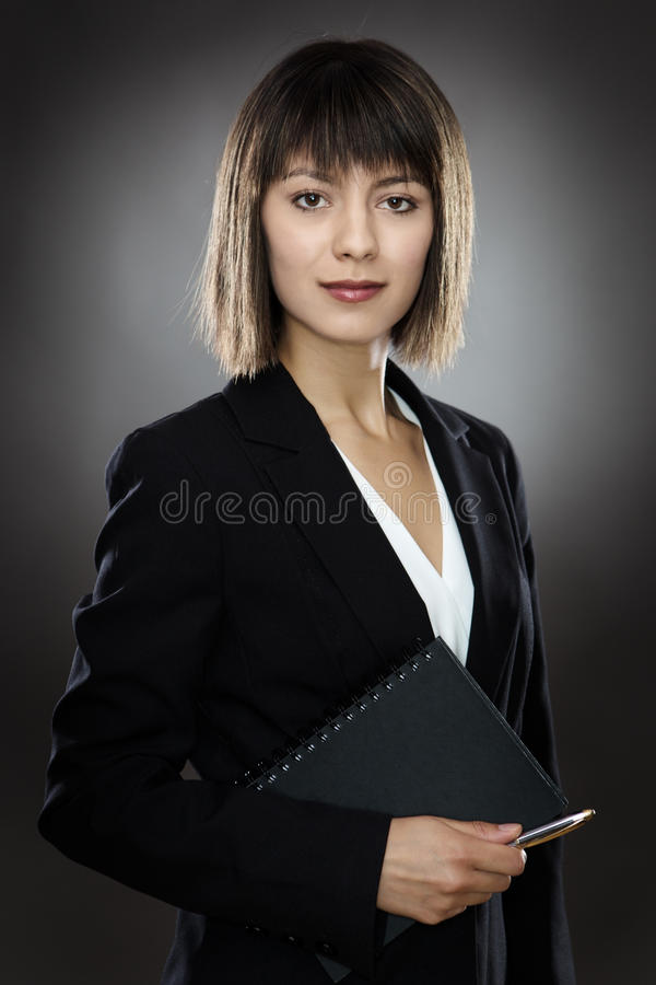 Профессиональная бизнес-леди стоковые изображения rf