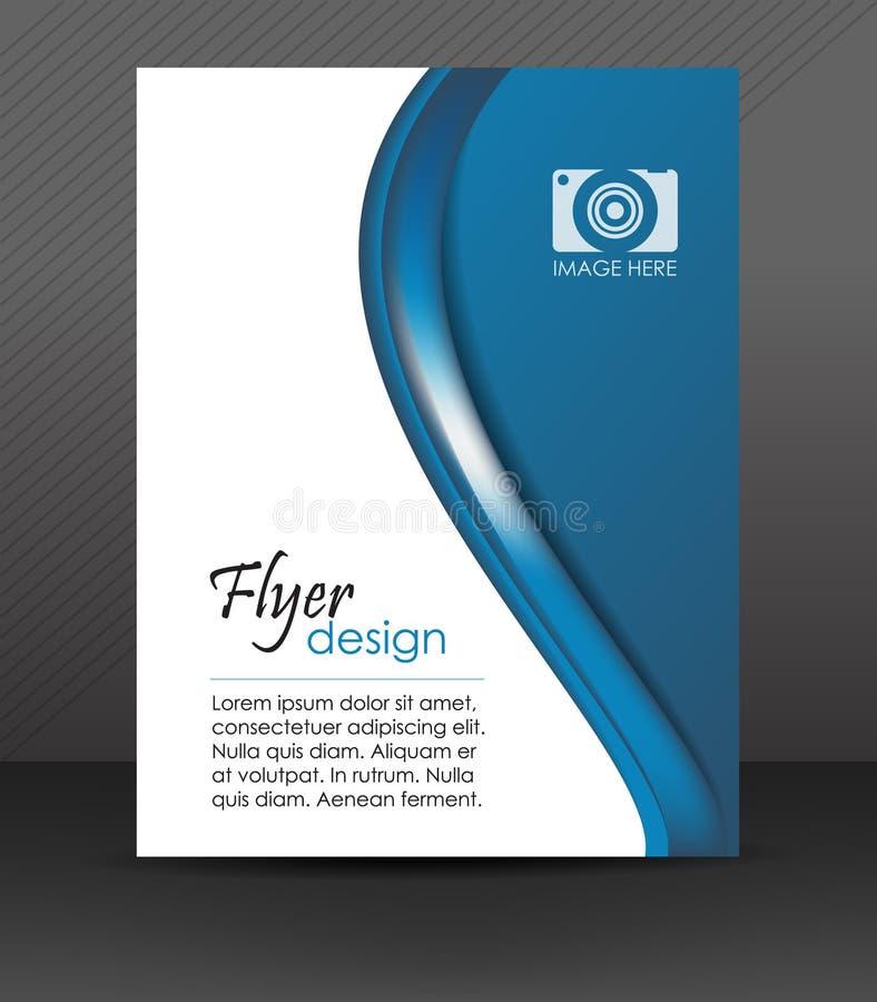 Профессиональный шаблон рогульки дела или корпоративное знамя, дизайн крышки бесплатная иллюстрация
