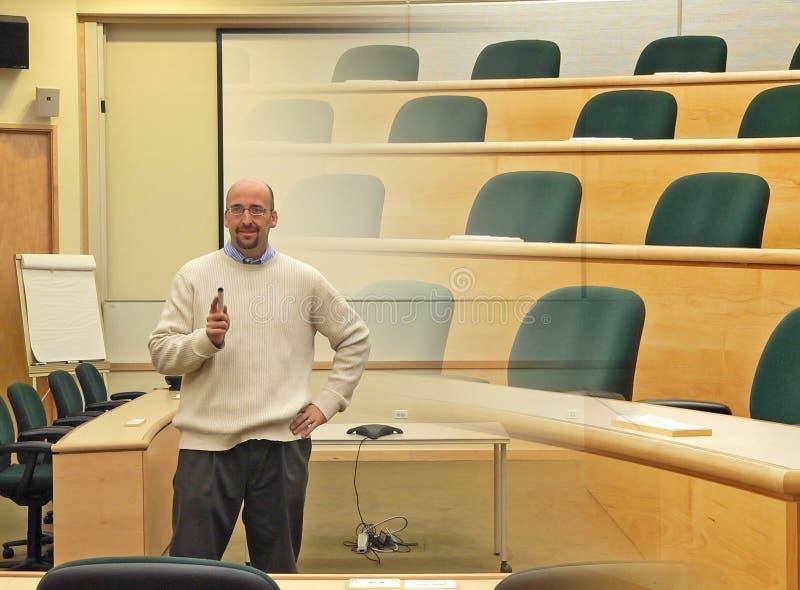 профессор коллежа стоковая фотография rf