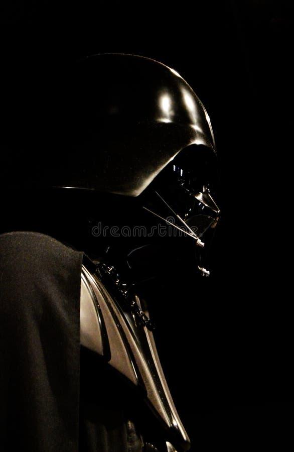 Профиль Darth Vader стоковое изображение rf