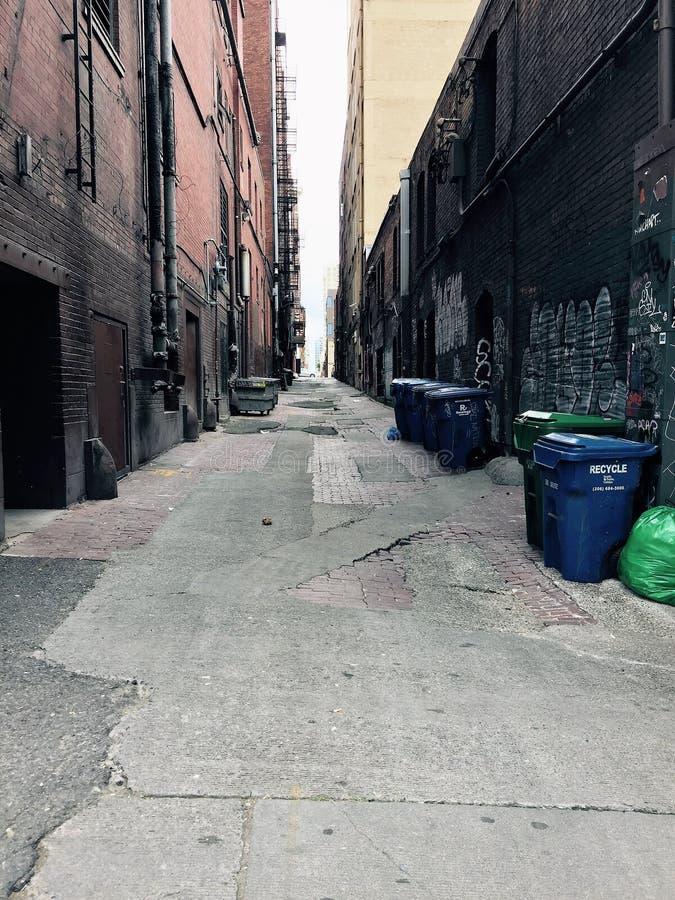 Проход городской Сиэтл стоковые изображения rf