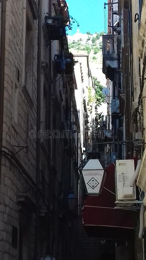 проход Дубровника стоковые фото