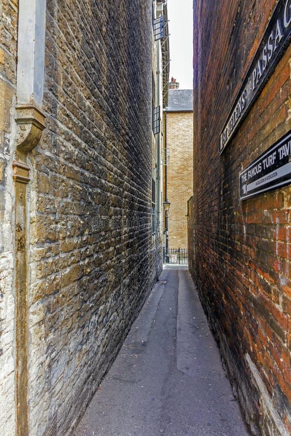 Проход St Хелена, Оксфорд, Англия стоковое изображение rf