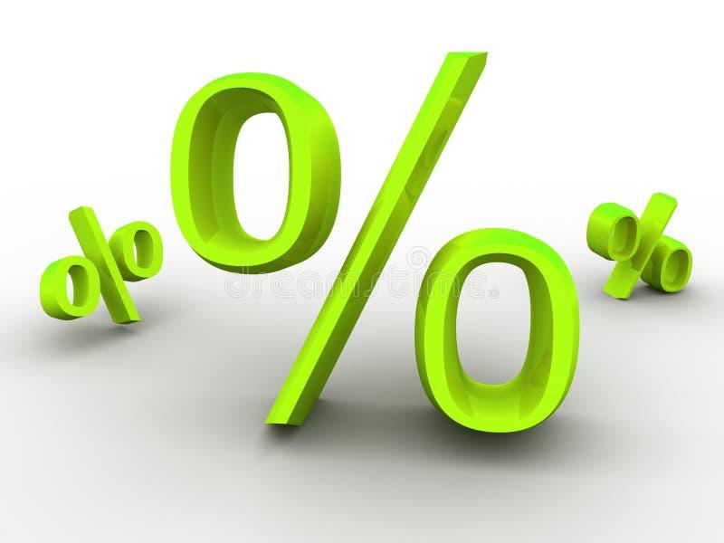 проценты бесплатная иллюстрация
