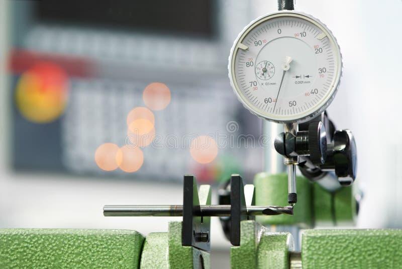Процесс инструмента качественный измеряя стоковые фото