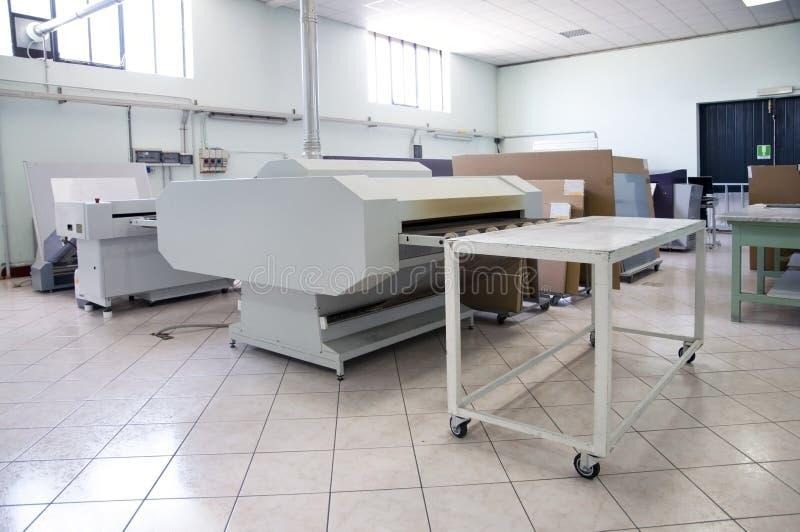процесс печатания плиты ctp компьютера к стоковое изображение