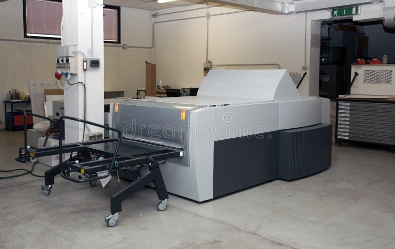 процесс печатания плиты ctp компьютера к стоковое фото rf