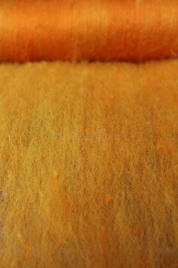Прочесанная шерсть овец batts стоковое фото rf