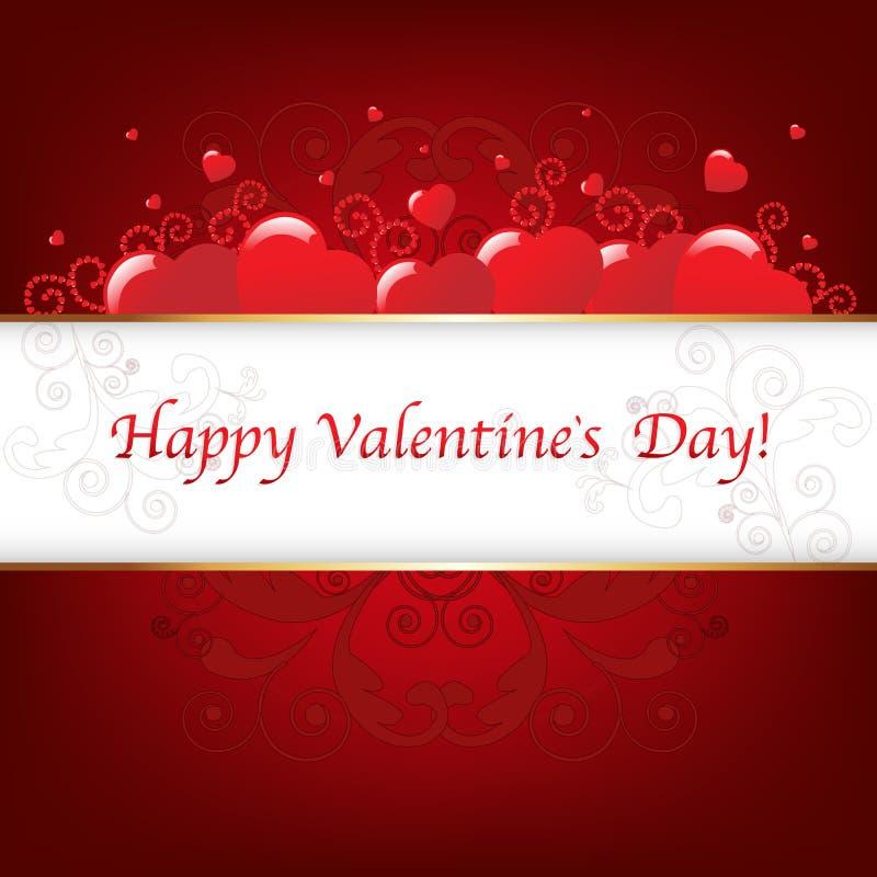 прочешите вектор valentines дня иллюстрация штока