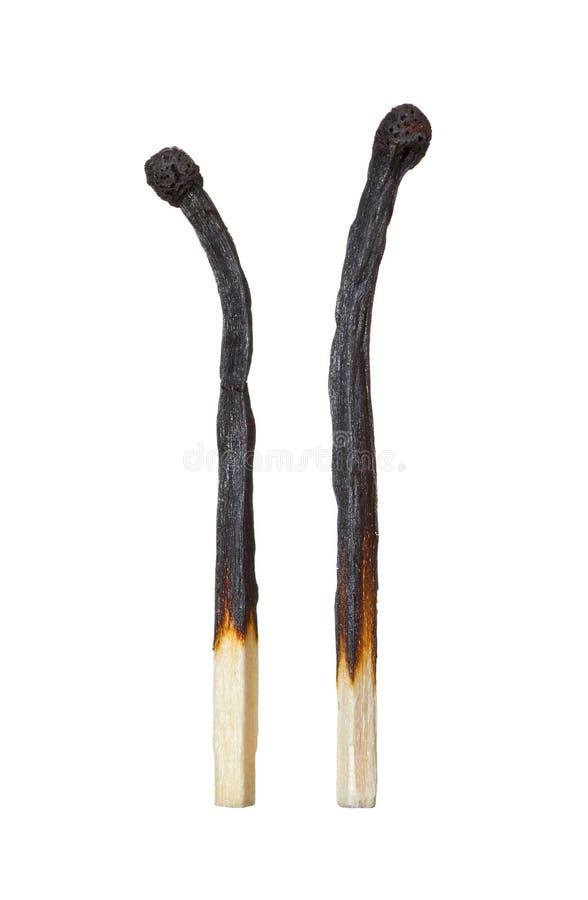 прочь сгорел каждое сопрягает другое повернул 2 стоковое изображение rf