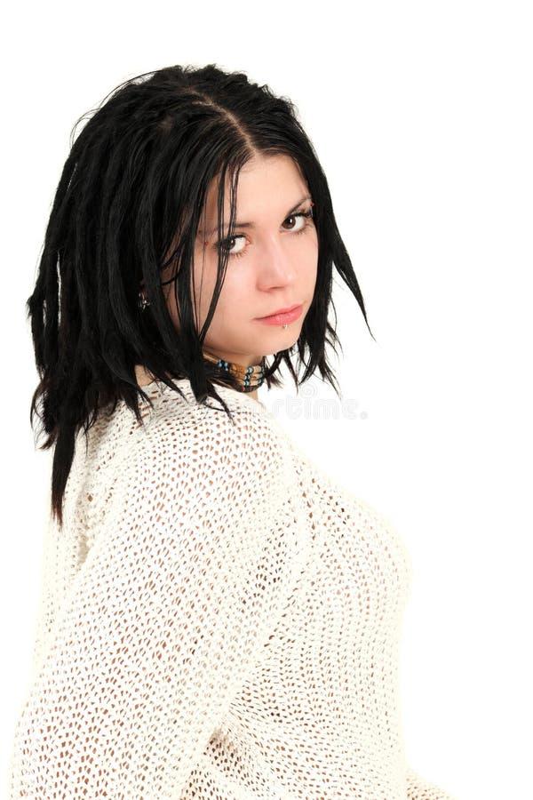 прошивки девушки стороны подростковые стоковая фотография