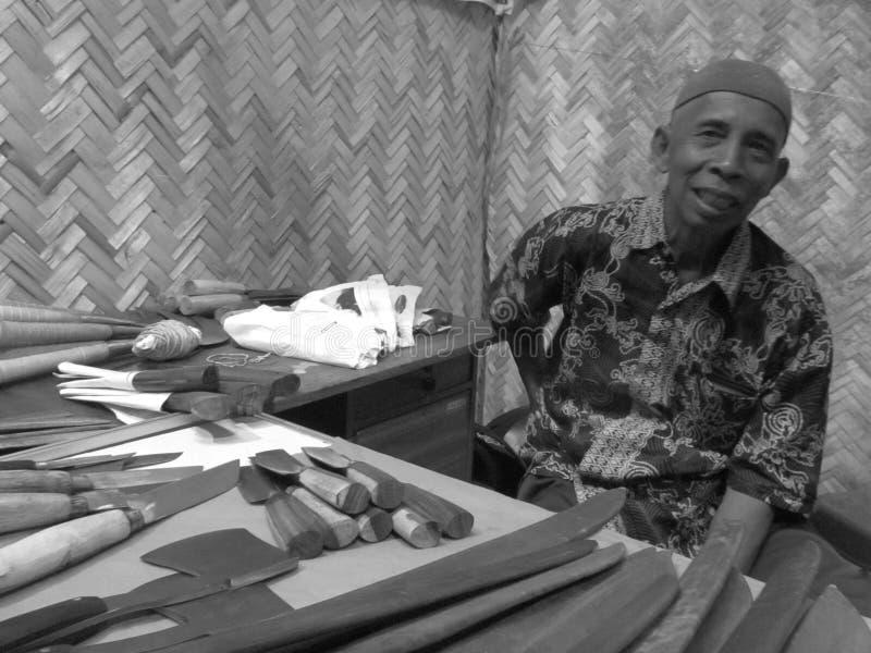 Продавец традиционный стоковые фотографии rf