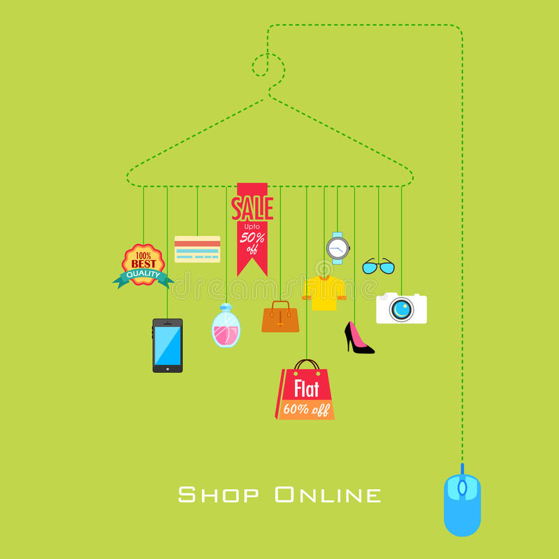 Продажа и продвижение бесплатная иллюстрация