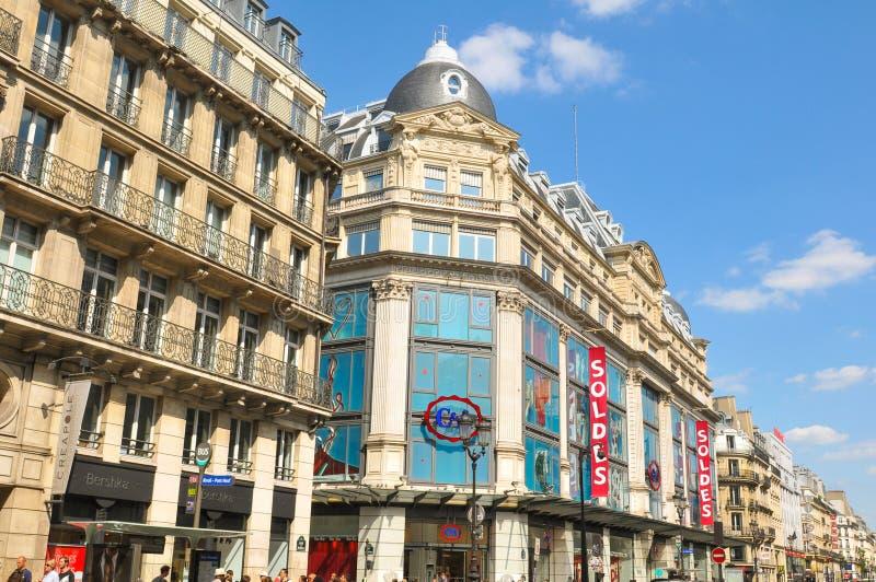 Продажи Парижа стоковые фотографии rf