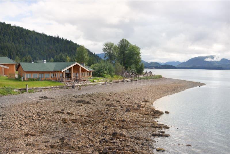 пролив пункта Аляски ледистый стоковое фото